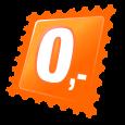 Круглые плоские серьги- Оригами лебедь